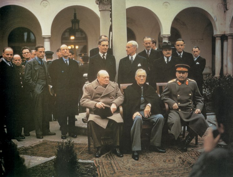 an introduction to the history of the yalta conference The conferences acted as a mere battleground for the grand alliance to disagree and fall out but it cannot be denied that the conferences did aid the however, with victory assured, decision-makers in london, washington and moscow began to turn their attention to the forthcoming peace settlement.