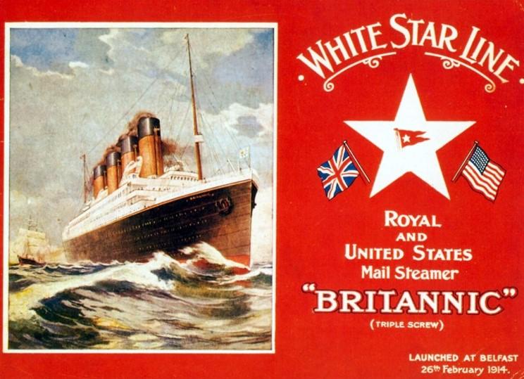 Britannic La Nave Gemela Del Titanic Imagenes