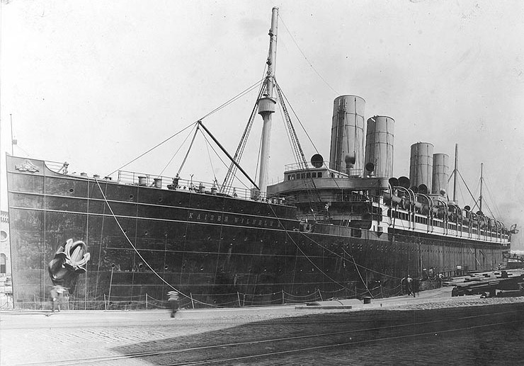 June 1917 Kaiser Wilhelm II at