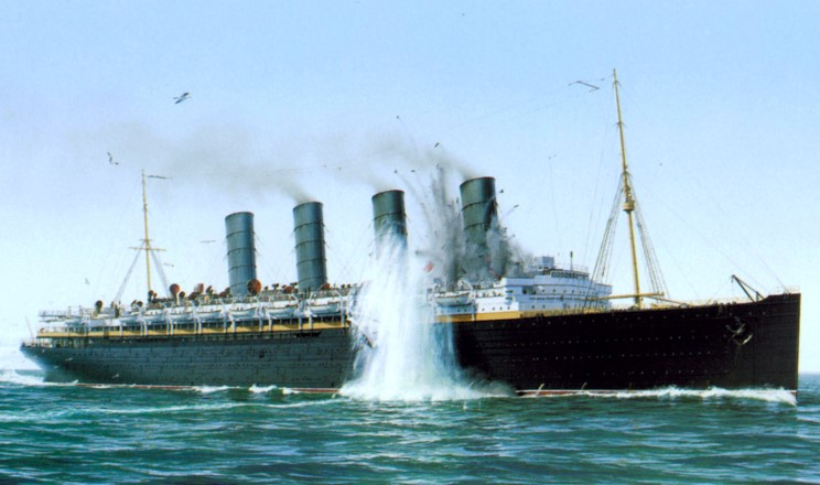 LUSITANIA TORPEDEADO