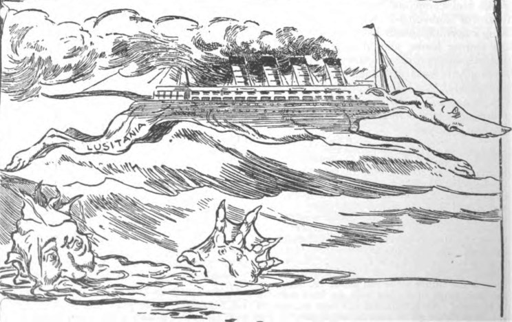 Lusitania Coloring Page