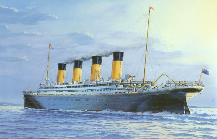 Dessins de vrais artistes 06_titanic