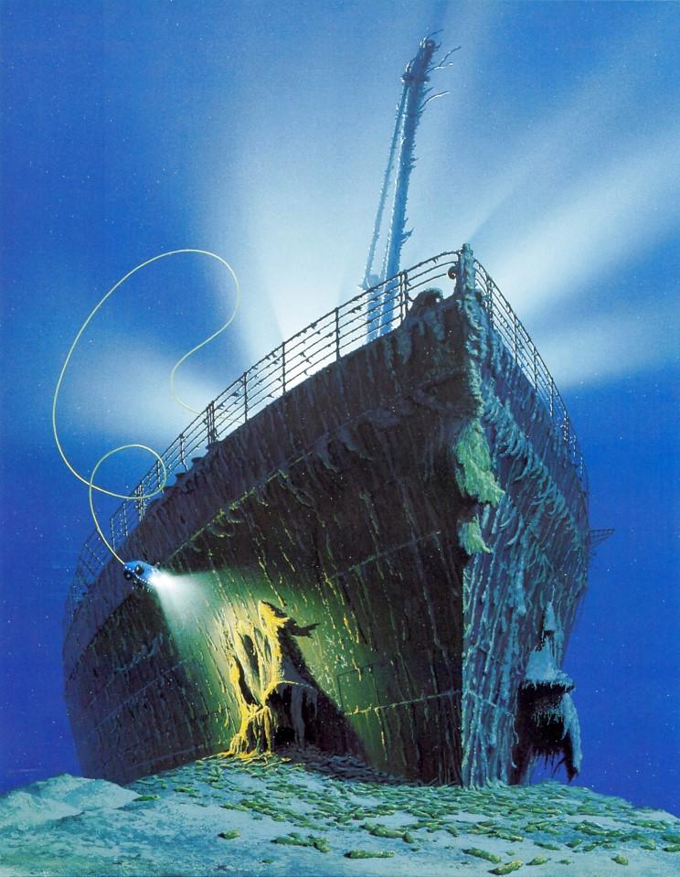 Dessins de vrais artistes 16_titanic