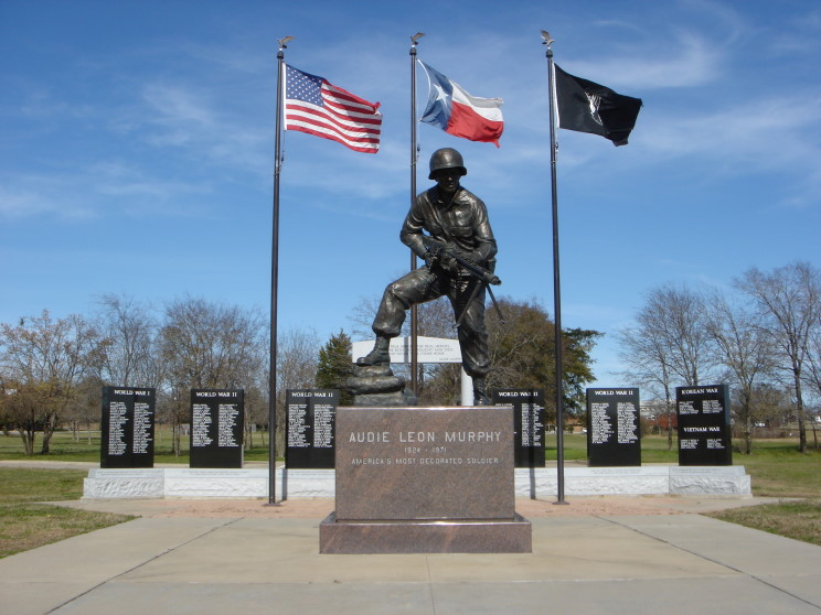 Audie Murphy Statue 1000 Images About Quot History Quot Our Hero S