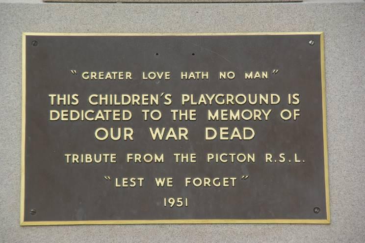 Picton (NSW) Australia  City pictures : MaritimeQuest Picton War Memorial, Picton, NSW, Australia
