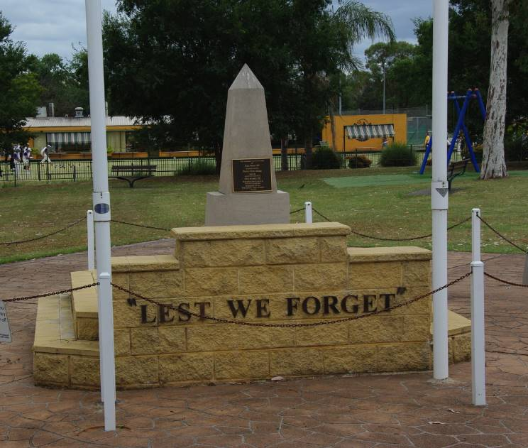 Picton (NSW) Australia  city photos gallery : MaritimeQuest Picton War Memorial, Picton, NSW, Australia