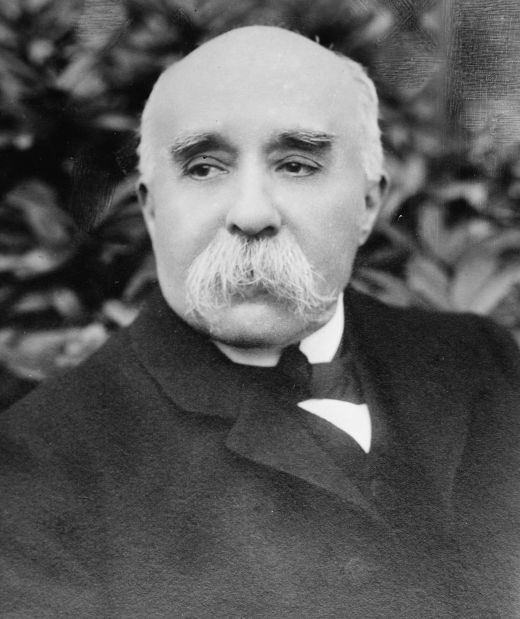 maritimequest prime minister georges benjamin clemenceau 1841 1929. Black Bedroom Furniture Sets. Home Design Ideas