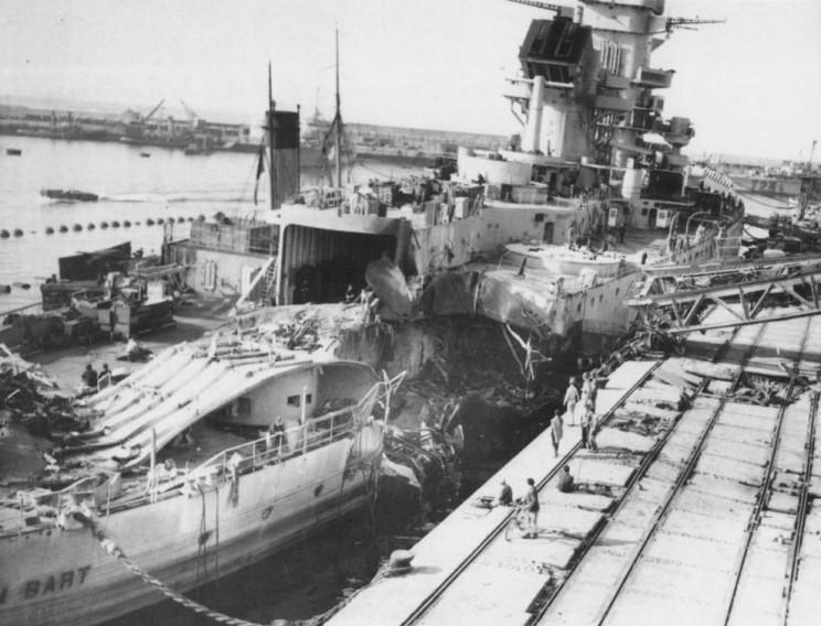Wwii Ship Damage Ar15 Com