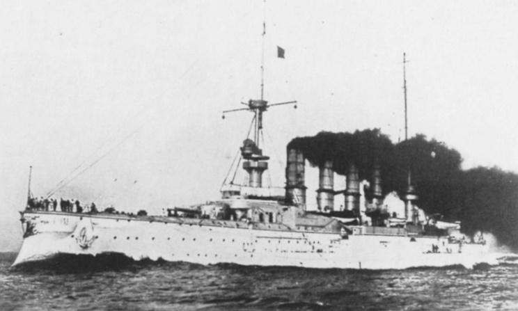SMS Scharnhorst 1914