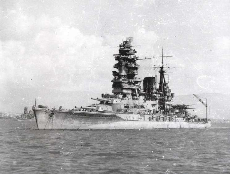 Kirishima Japan  city photos : Download Japanese battleships Nagato, Kirishima, Ise and Hyuga, date ...