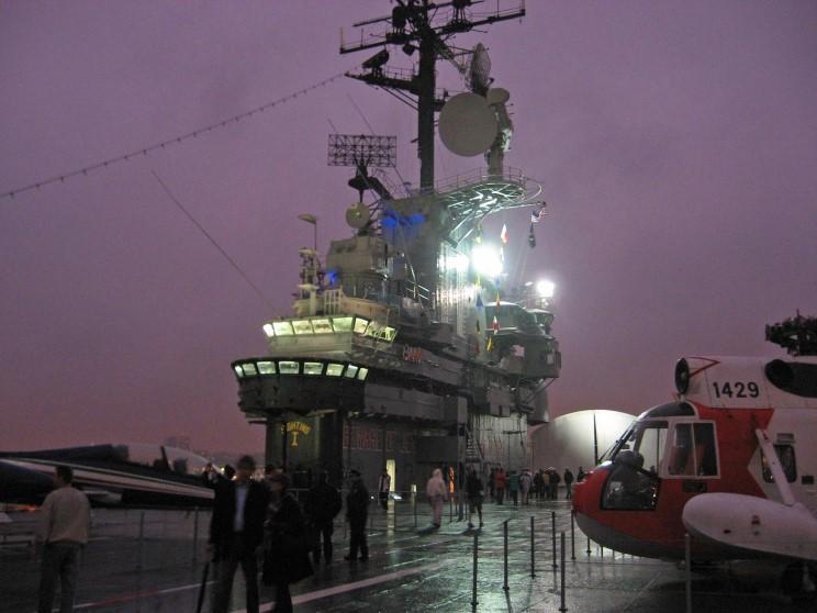 MaritimeQuest - USS Intrepid CV-11 Nov. 8, 2008 ...