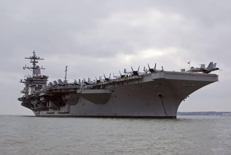USS Theodore Roosevelt CVN 71 Big Stick Air DEPT World ...