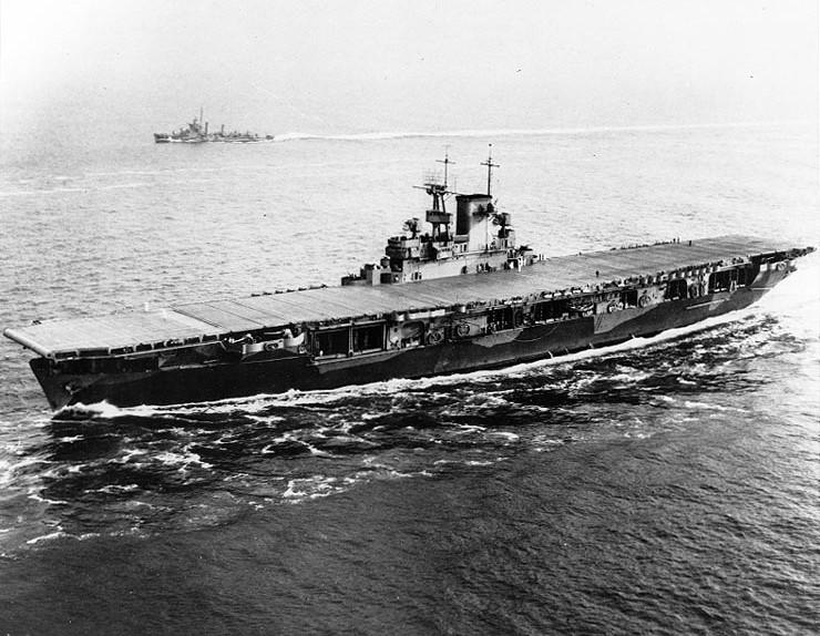 Maritimequest uss wasp cv 7 page 2 - Porte avion japonais seconde guerre mondiale ...