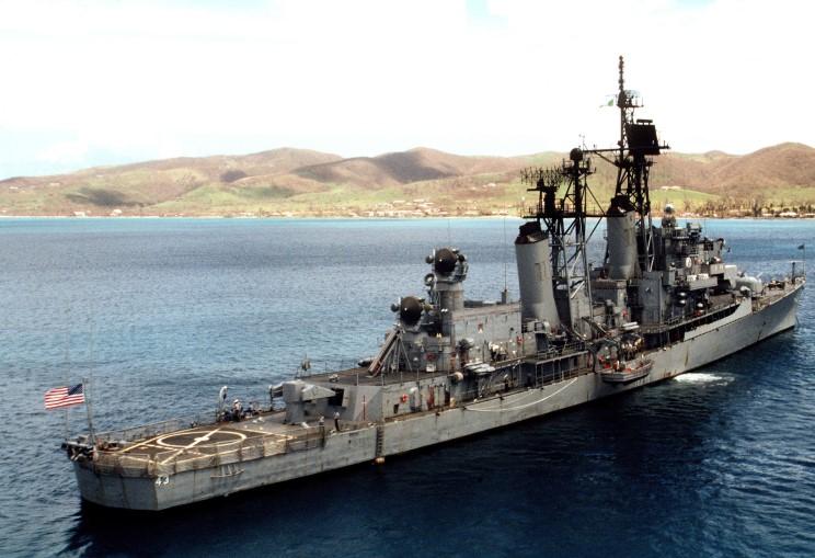 MaritimeQuest - USS Dahlgren DL-12 / DLG-12 / DDG-43 Page 1