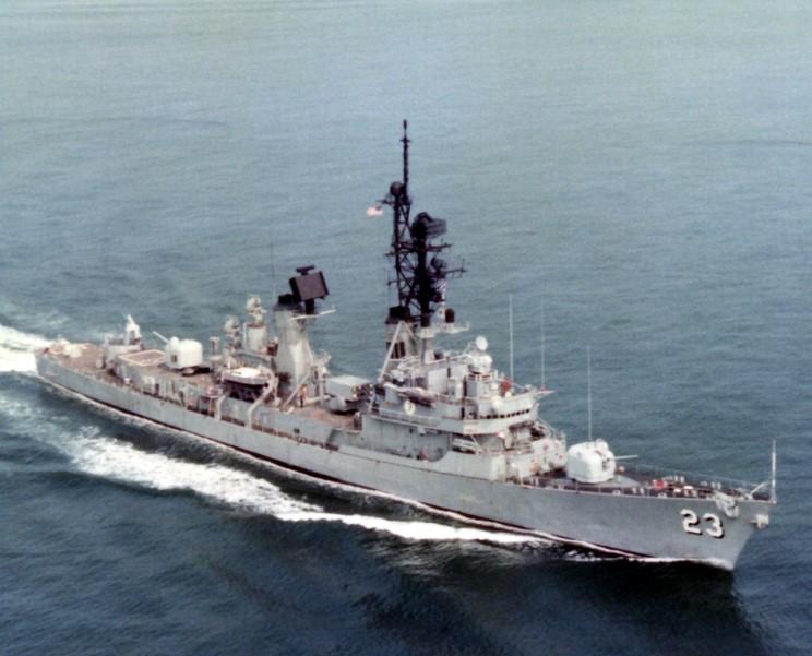 MaritimeQuest - USS Richard E. Byrd DDG-23