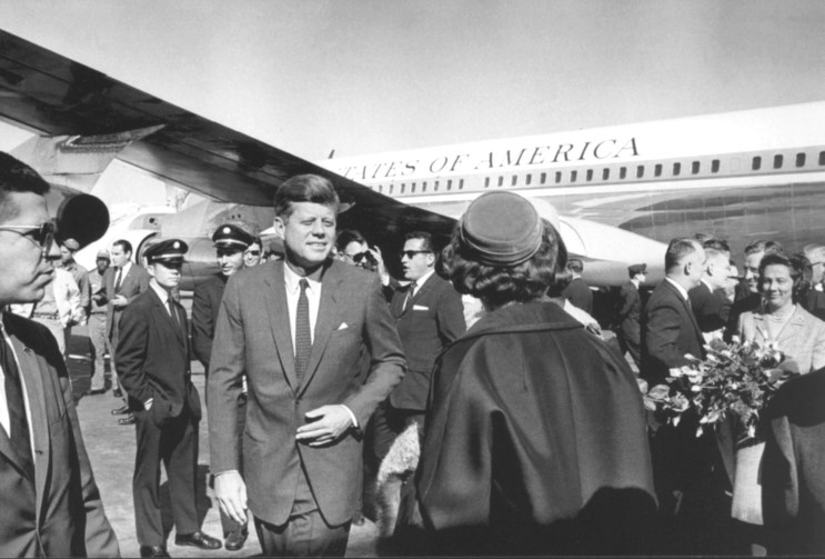 President Kennedy assassinated in Dallas, Nov. 22, 1963 ...