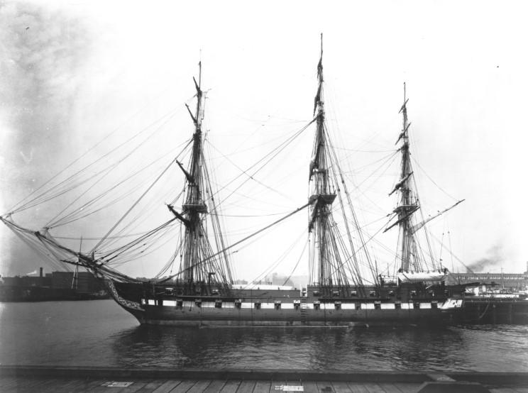 L'USS Constitution 1931_07_01_boston_nsy