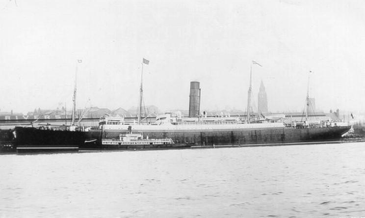 Maritimequest Carpathia 1903 Page 1