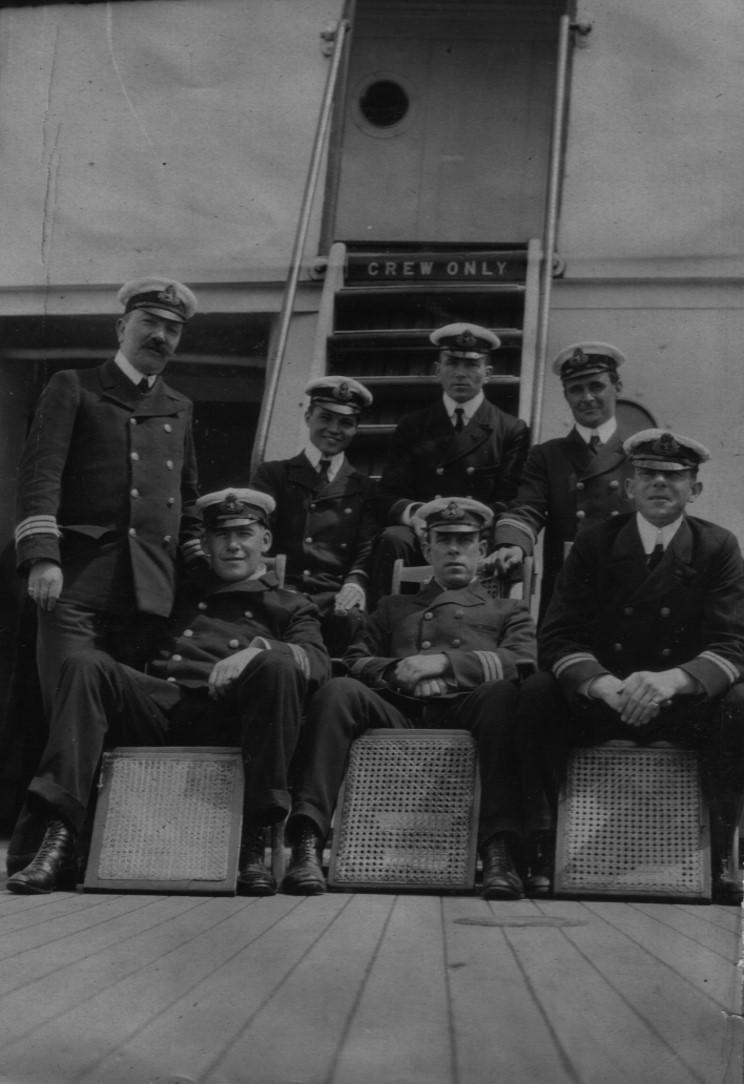 Maritimequest Carpathia 1903 Marjorie Champlin Bowen Collection Page 2
