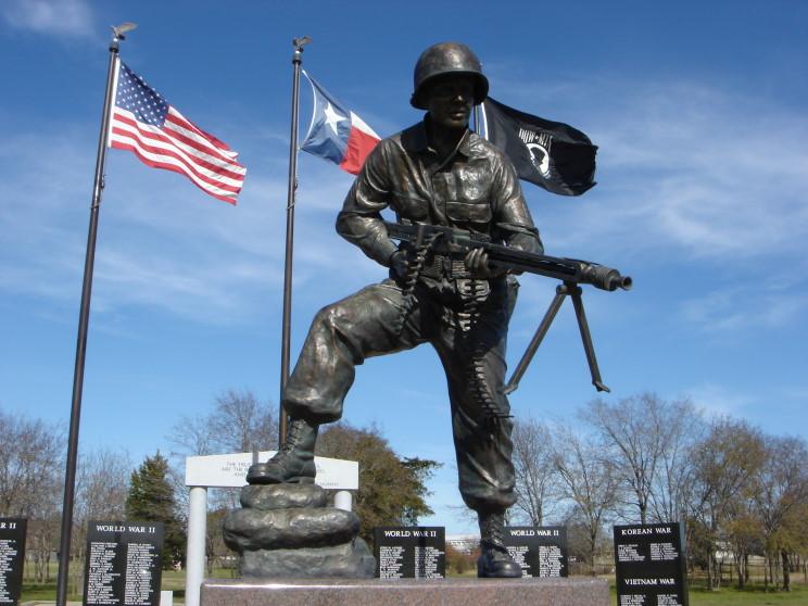Maritimequest Audie Murphy Hunt County War Memorial Greenville Texas Page 4