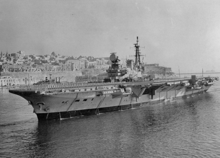 MaritimeQuest - HMS Hermes R-12 Page 1