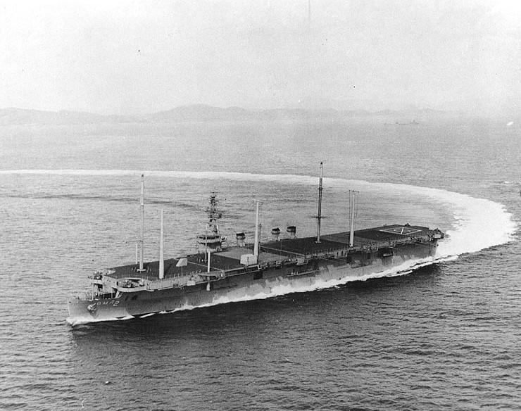 USS Saipan CVL-48/AGMR-2 USS Arlington
