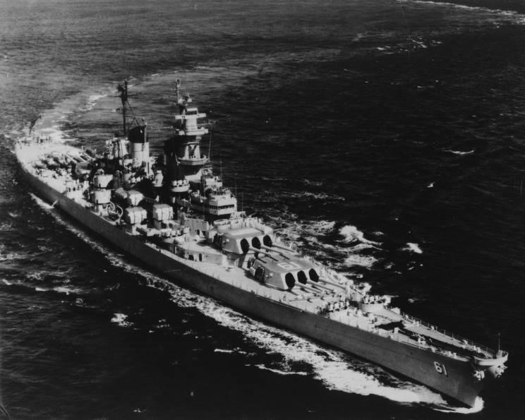 MaritimeQuest - USS Iowa BB-61 Page 1